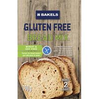 Bakels Gluten Free Bread Mix 700g