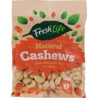 Fresh Life Natural Cashews 150g