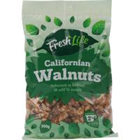 Fresh Life Californian Walnuts 350g