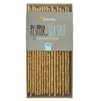 Danvita Pepper & Sea Salt Wheat Crispbread 130g