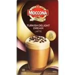 Moccona Turkish Delight Dream Latte Sachets 10ea