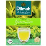 Dilmah Pure Ceylon Green Tea With Jasmine Flavour 100pk
