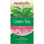 Healtheries Green Tea With Rose 20ea
