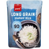 Pams Long Grain Instant Rice 250g