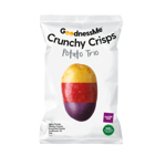 Goodness Me Crunchy Crisps Potato Trio 100g