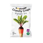 Goodness Me Crunchy Crisps Vegetable Trio 100g