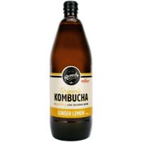 Remedy Ginger Lemon Organic Kombucha 750ml