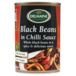Delmaine Black Bean Chilli 390g