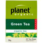 Planet Organic Green Tea 25ea