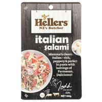 Hellers Sliced Italian Salami 100g