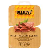 Beehive Sliced Mild Italian Salami 80g