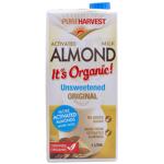 Pureharvest Unsweetened Almond Milk 1l