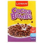 Lowan Cocoa Bombs Gluten Free Breakfast Cereal 350g