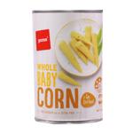 Pams Baby Corn in Brine 400g