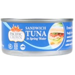 Pacific Crown Sandwich Tuna In Spring Water 170g