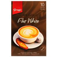 Gregg's Greggs Cafe Gold Coffee Flat White Sachets 10pk