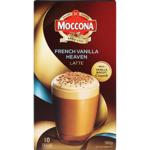 Moccona French Vanilla Heaven Latte Sachets 10pk