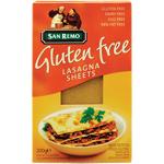 San Remo Gluten Free Lasagna Sheets 200g