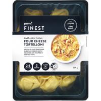 Pams Finest Authentic Italian Four Cheese Tortelloni 250g