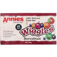 Annies Wiggles Snack Box Berryfruit 10 Bars