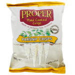 Proper Hand Cooked Parsnip Chips 100g
