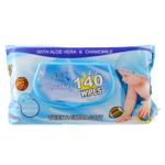 Silk Boy Baby Wipes 140ea