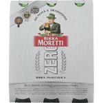 Birra Moretti Zero Lager 3pk