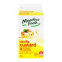 Meadow Fresh Vanilla Custard 600g