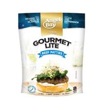 Angel Bay Gourmet Lite Burger Patties 8ea