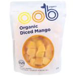 Oob Organic Organic Diced Mango 500g