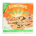 Edmonds Savoury Short Pastry Reduced Fat 750g 5 sheets