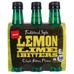 Pams Lemon Soft Drink 6pk