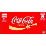 Coca Cola Vanilla Soft Drink Cans 8pk