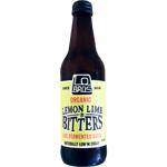 Lo Bros Organic Lemon Lime & Bitters Live Fermented Soda 330ml
