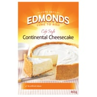 Edmonds Smooth Continental Cheesecake Mix 465g