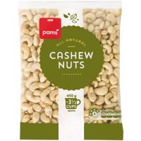 Pams Cashew Nuts 450g
