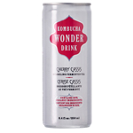 Kombucha Wonder Drink Cherry Cassis Sparkling Fermented Tea 250ml