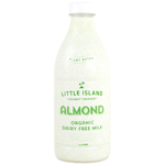 Little Island Almond Organic Dairy Free Milk 1l