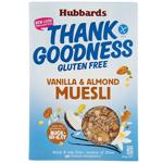Hubbards Thank Goodness Vanilla Almond Muesli 350g