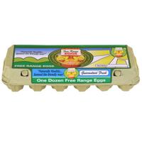 The Natural Egg Company Free Range Mixed Grade Eggs 12ea