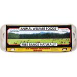 Animal Welfare Foods Free Range Eggs Mixed Grade 12PK