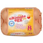 The Ultimate Egg Co. Free Range Size 8 Eggs 6ea
