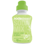 SodaStream Lemon Lime & Bitters Flavoured Drink Concentrate 500ml