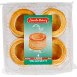Lincoln Bakery Vol Au Vent Large Cases 4pk