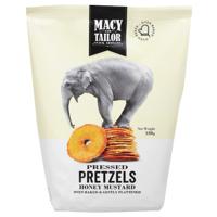 Macy & Tailor Honey Mustard Pressed Pretzels 180g
