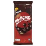 Maltesers Chocolate Block Dark Choc 146g