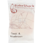 Bake Shack Steak & Mushroom Pie 200g