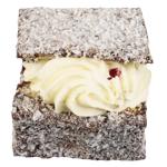 Bakery Chocolate Lamington With Mock Cream 1ea