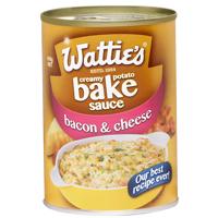 Wattie's Bacon & Cheese Creamy Potato Bake Sauce 410g