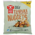 Tegel Free Range Gluten Free Tempura Battered Nuggets 700g